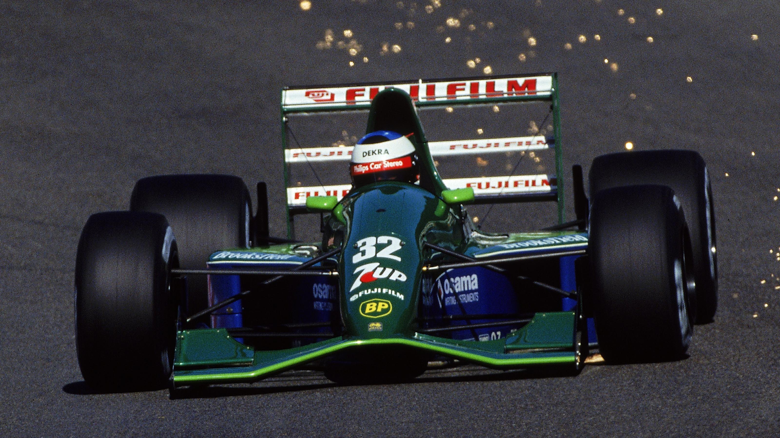 Formel 1: Michael Schumachers legendärer Jordan des Jahres 1991 wird verkauft