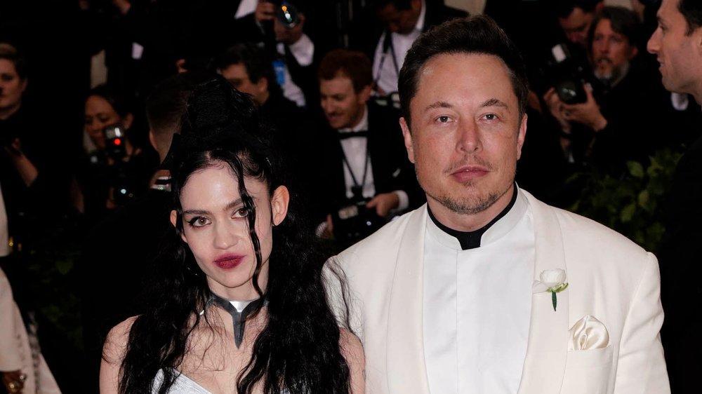 """Elon Musk und Grimes haben sich """"halbgetrennt"""""""