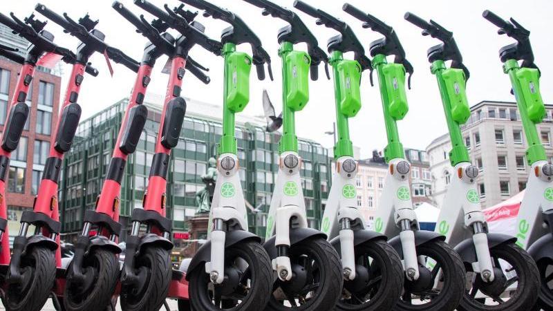 Düsseldorf will einen E-Scooter pro 100 Einwohner erlauben