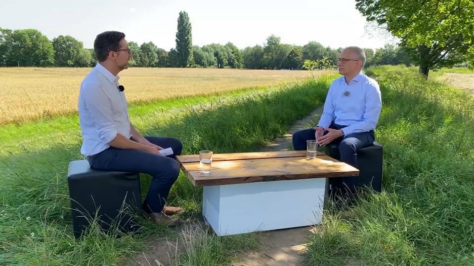 Offenbach: RTL Hessen-Sommerinterview mit Tarek Al-Wazir (Grüne)