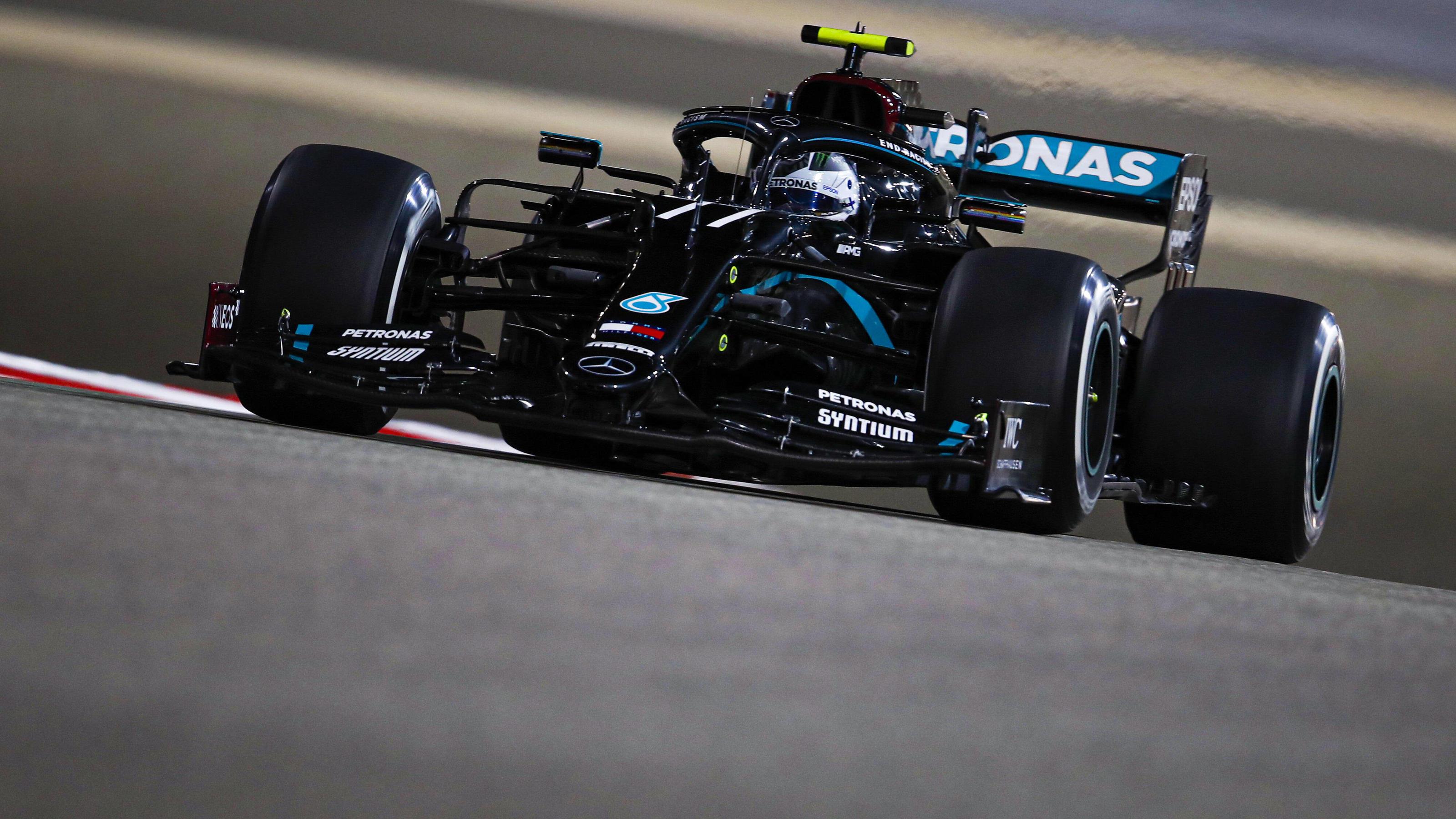 Formel 1 - Sakhir-GP, Qualifying: Valtteri Bottas schnappt sich Sakhir-Pole vor George Russell
