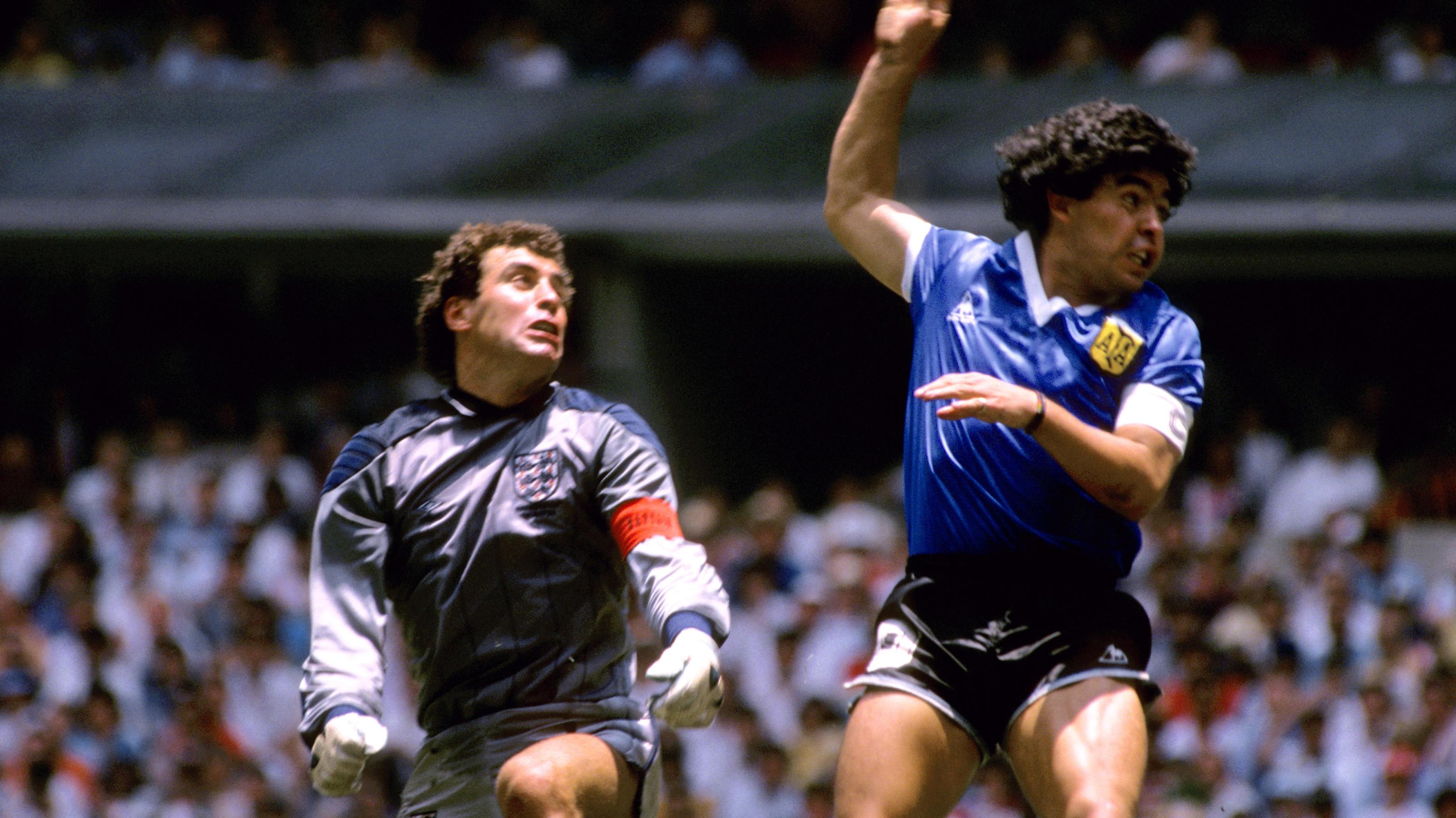 Diego Maradona: In diesem Spiel wurde er zur Legende...