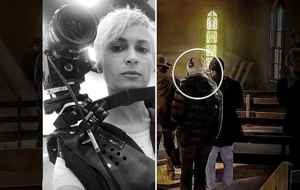 Kurz vor Baldwins Todesschuss - Das letzte Foto der lebenden Halyna