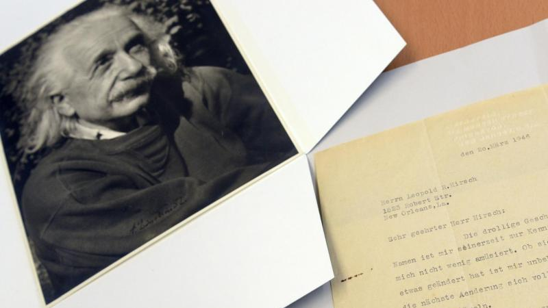 Ulm stellt weiteren Albert-Einstein-Brief vor