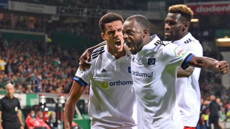 Derby-Wahnsinn: HSV gewinnt packendes Nordduell bei Werder