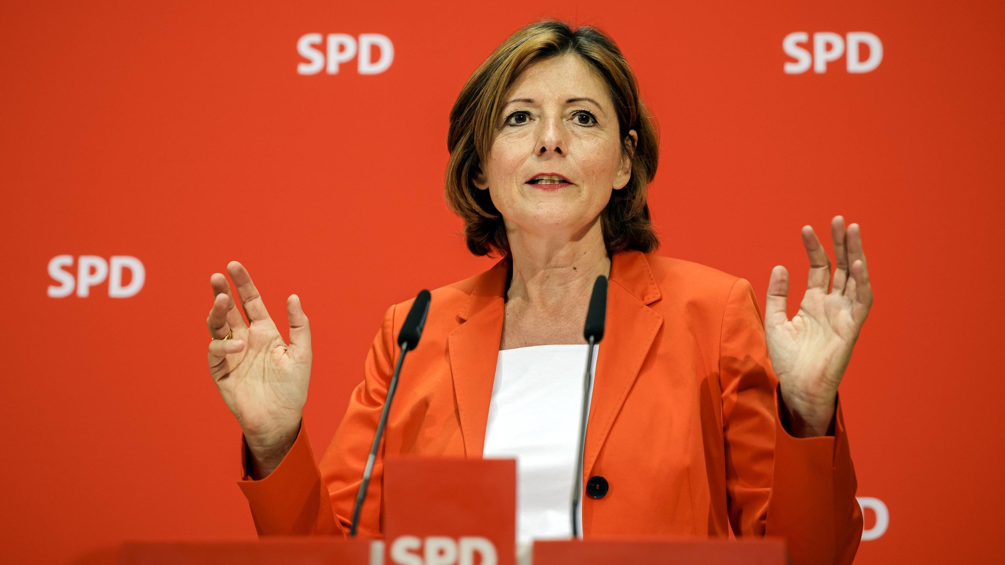 Rheinland-pfälzische Ministerpräsidentin Malu Dreyer fordert Lockerung: Wieder mehr Kontakte erlauben