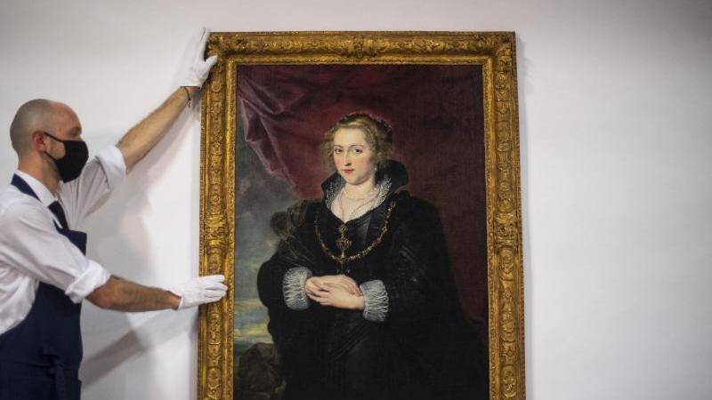 Wertvolles Rubens-Gemälde unter Staubschicht wiederentdeckt