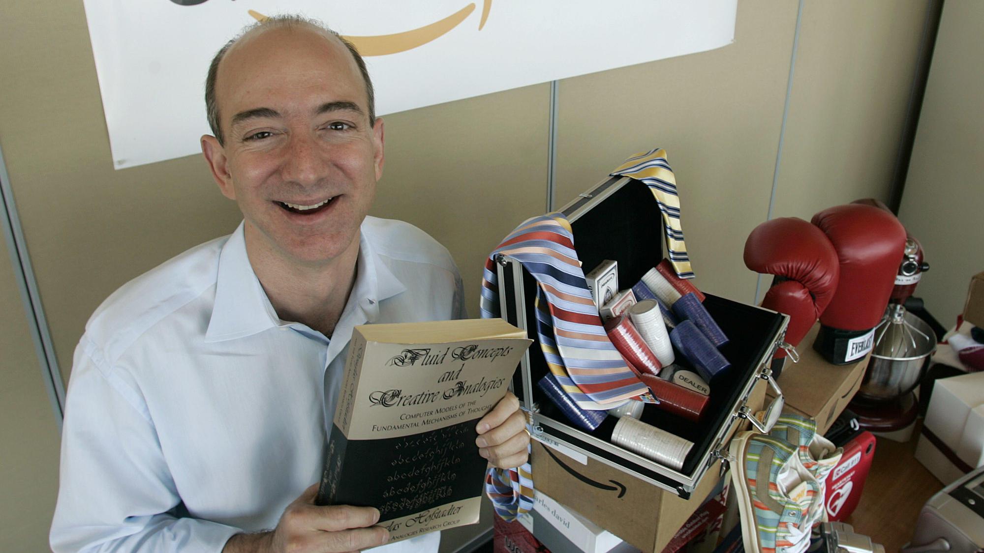 25 Jahre Amazon: Alles begann mit einem Buch