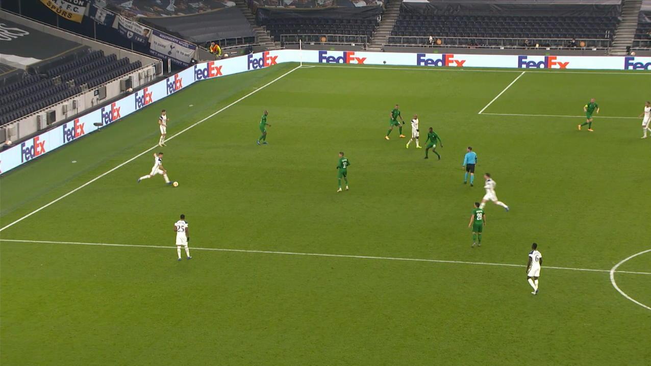 Aus-50-Metern-in-den-Giebel-Spurs-Urgestein-Harry-Winks-macht-sich-mit-seinem-ersten-EL-Treffer-unsterblich
