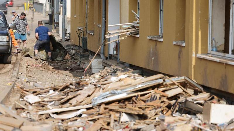 Keine Katastrophenlage erwartet, Risiko: vermüllte Abflüsse
