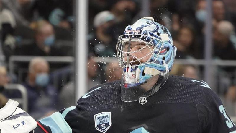 NHL-Goalie Grubauer verliert mit Seattle die Heim-Premiere