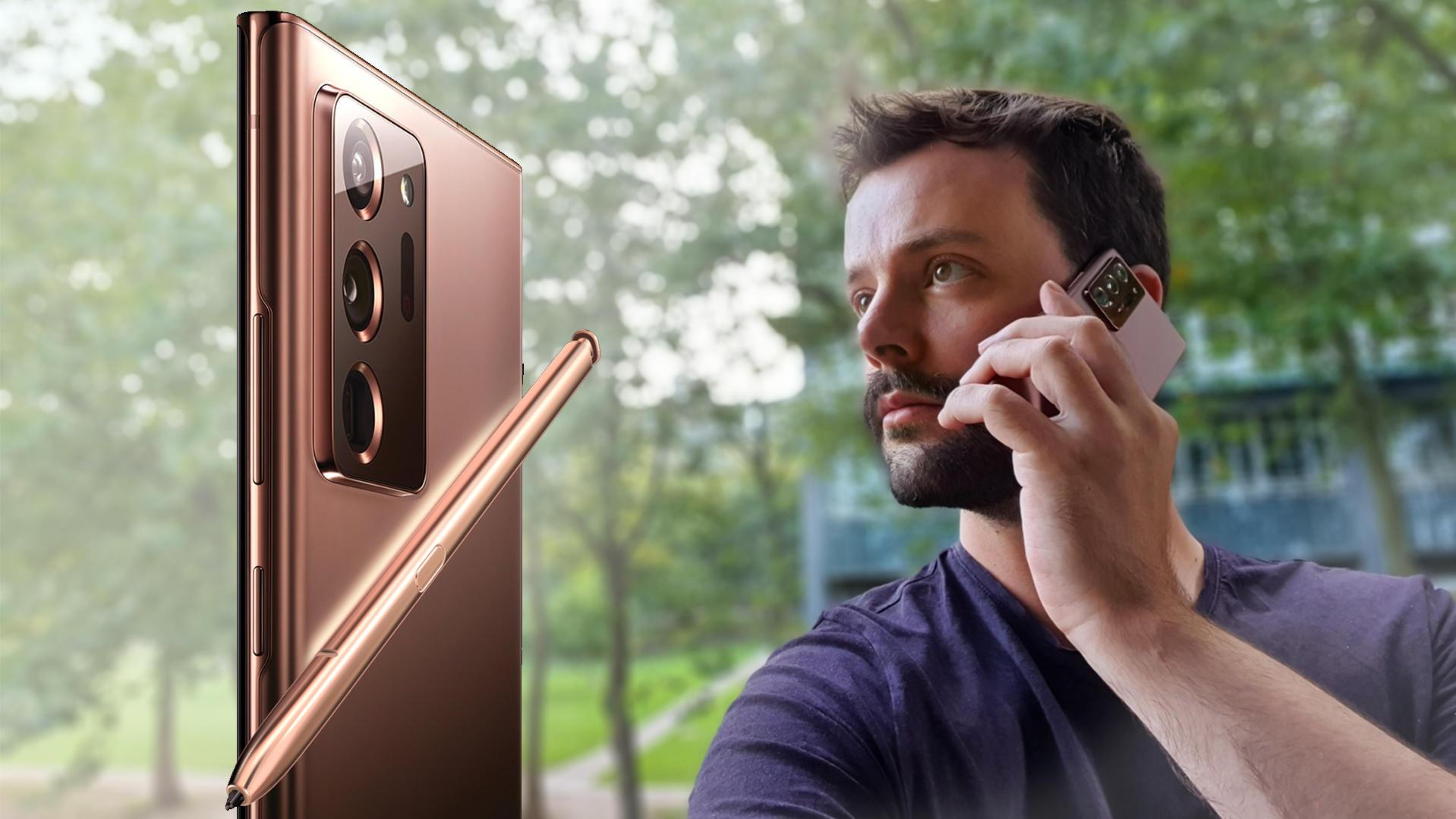 Samsung Galaxy Note 20 Ultra: Test im Alltag
