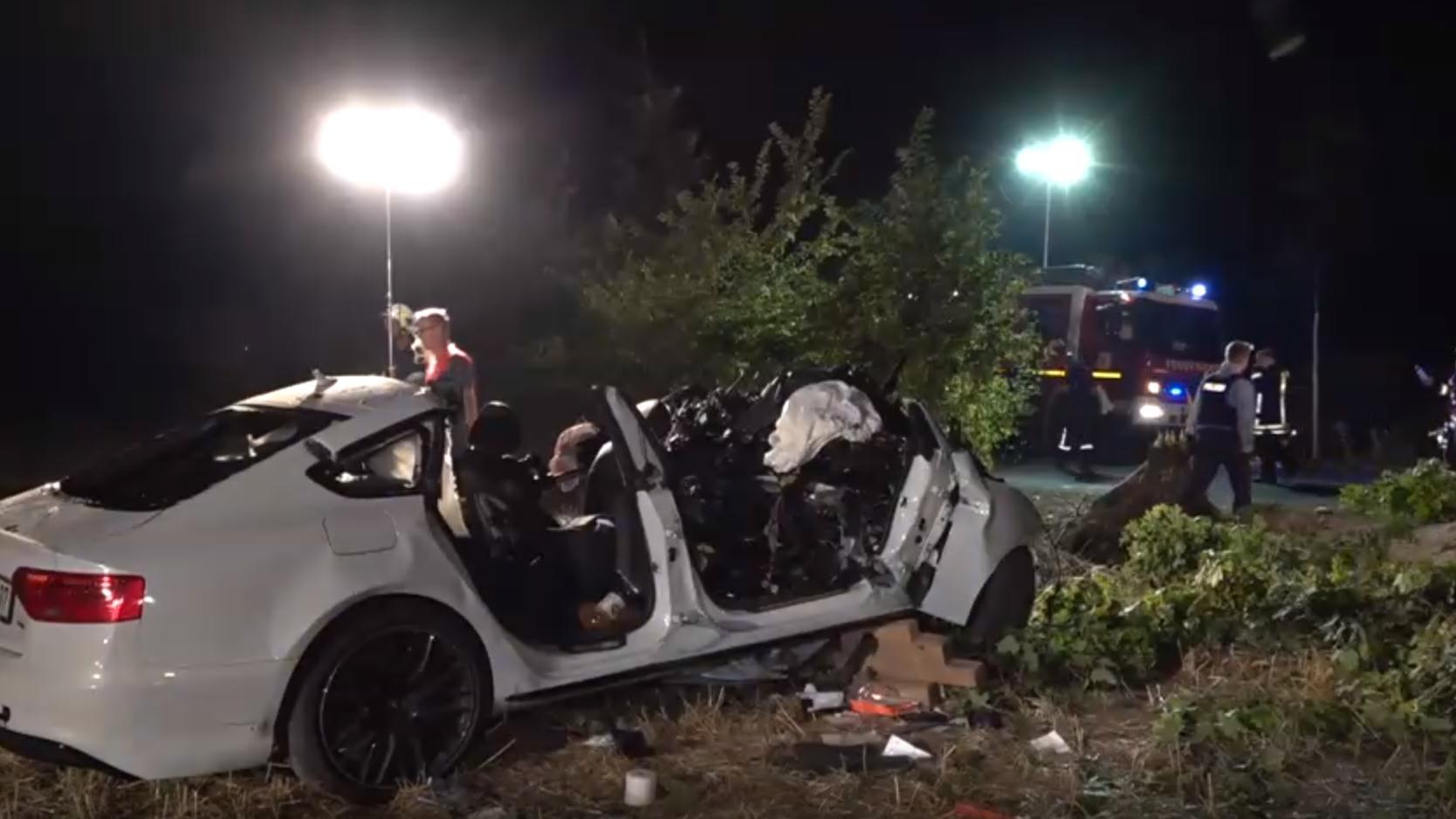 Potsdam: Nico V. (†22) setzte sich wütend ins Auto und raste gegen einen Baum