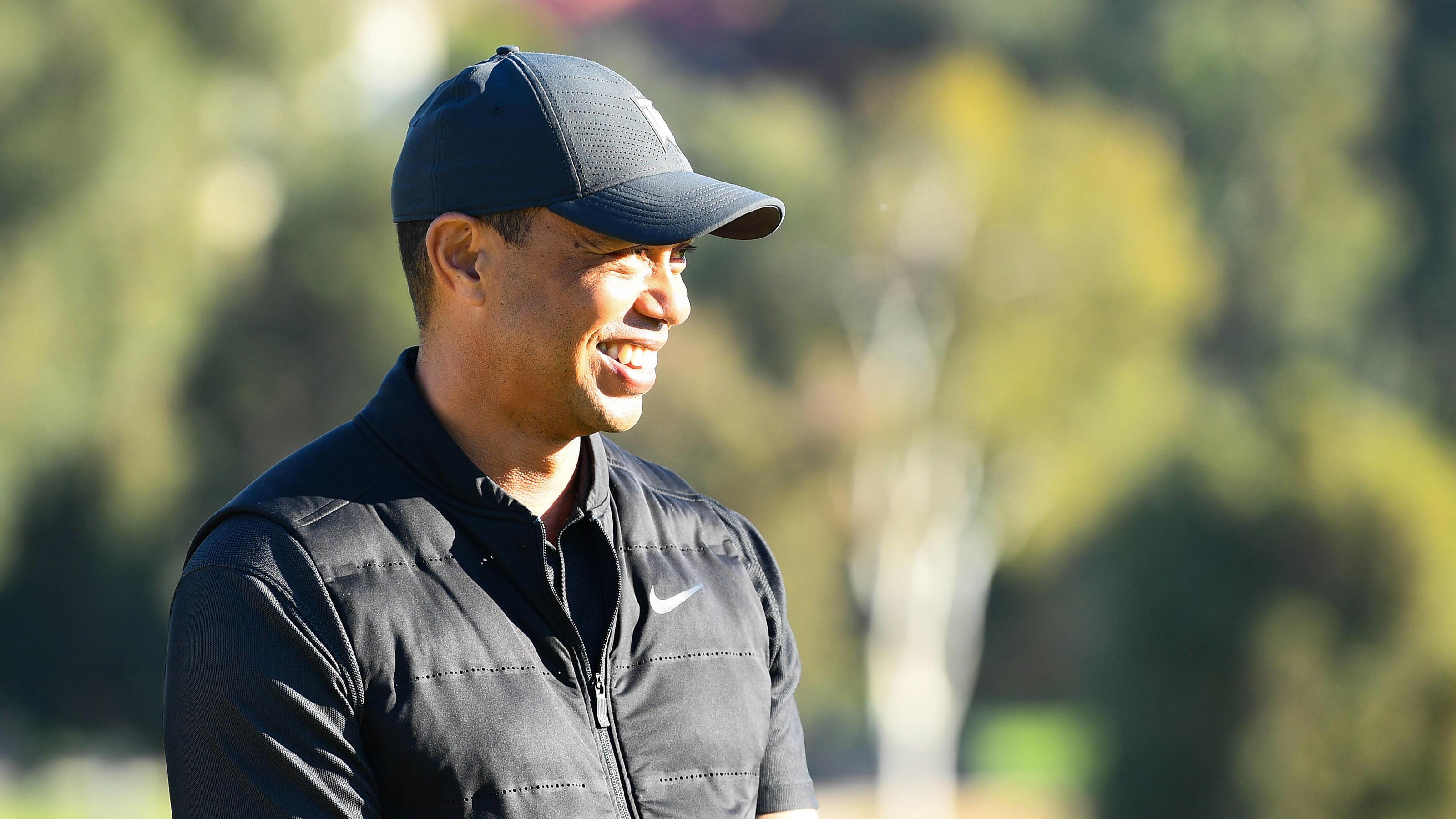"""Nach Horror-Crash: Tiger Woods """"in guter Stimmung"""""""