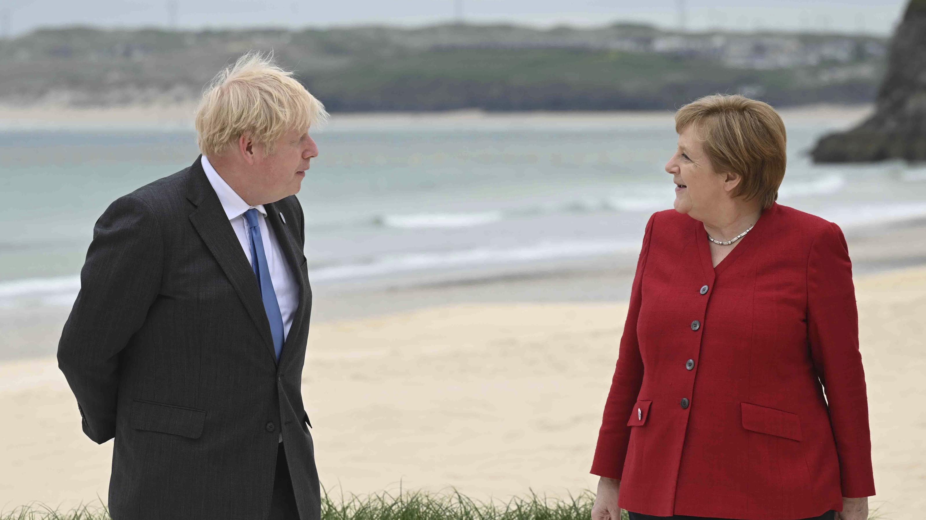 Abschied in Cornwall: Was hat Angela Merkels letzter G7-Gipfel gebracht?