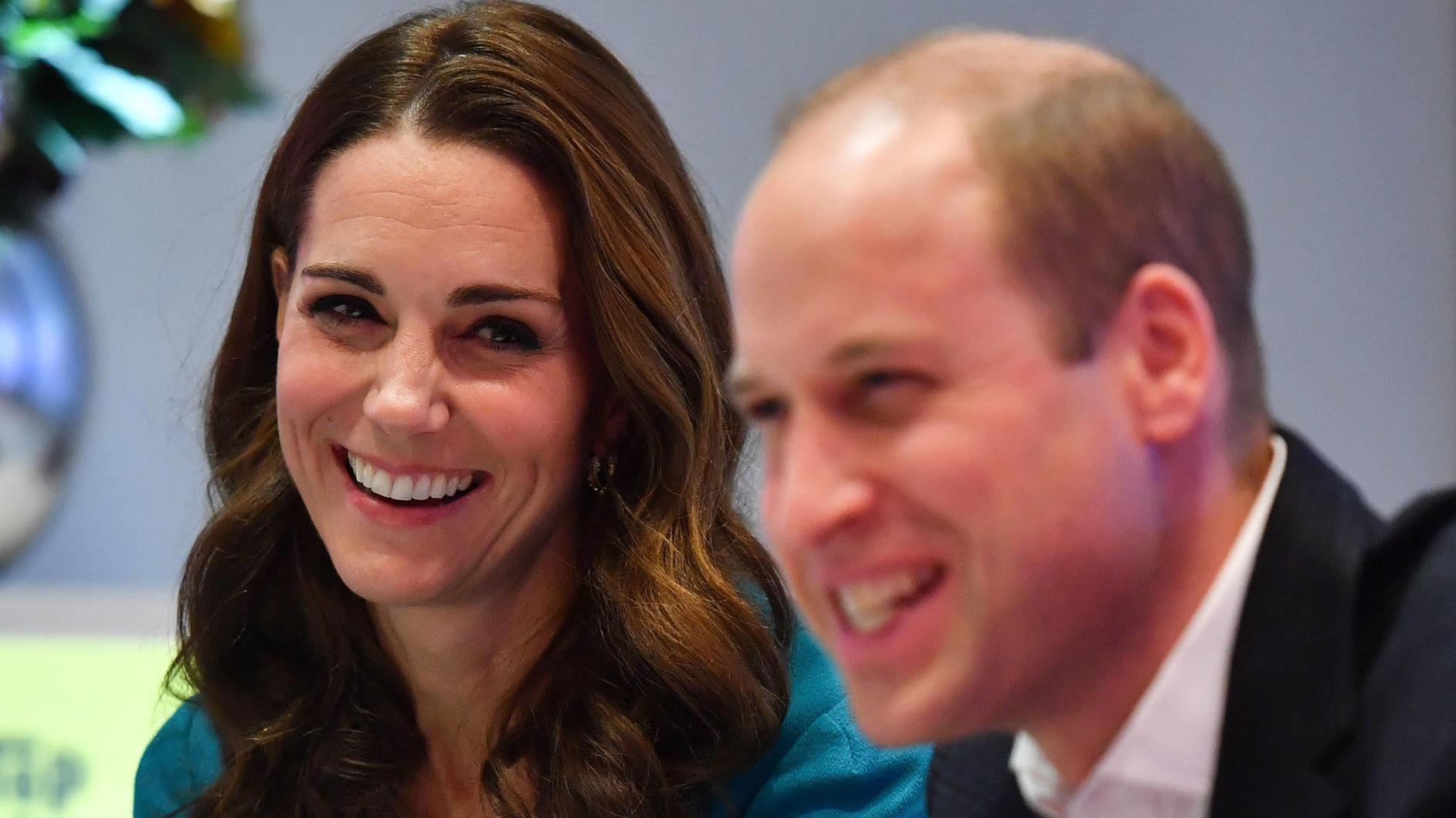 Prinz William: Familienzeit mit einem besonderen Gast