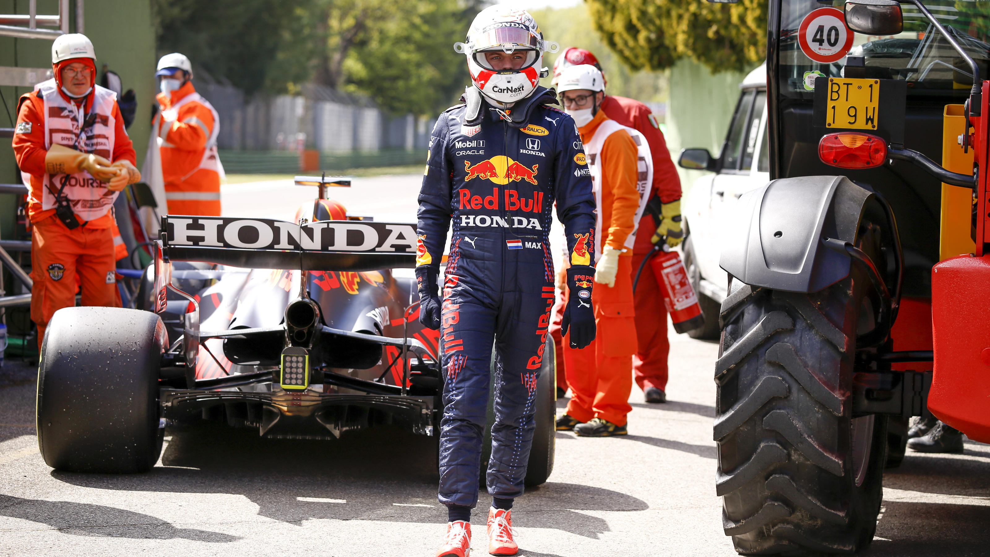 Formel 1 in Imola: Red Bull erlebt Trainings-Desaster