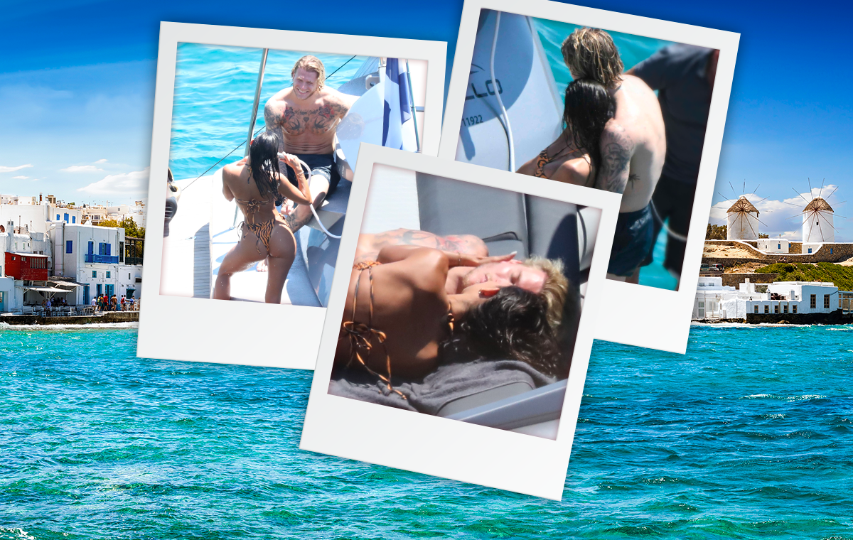 Promi-Flirt-Hotspot Mykonos - Warum Sophias Ex Loris gerade hier fremd turtelte
