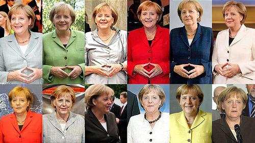 Wohin nur mit den vielen bunten Blazern von Angela Merkel?