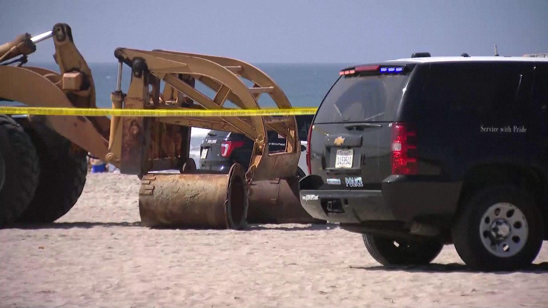 Kalifornien: Traktor überrollt am Strand liegende Frau