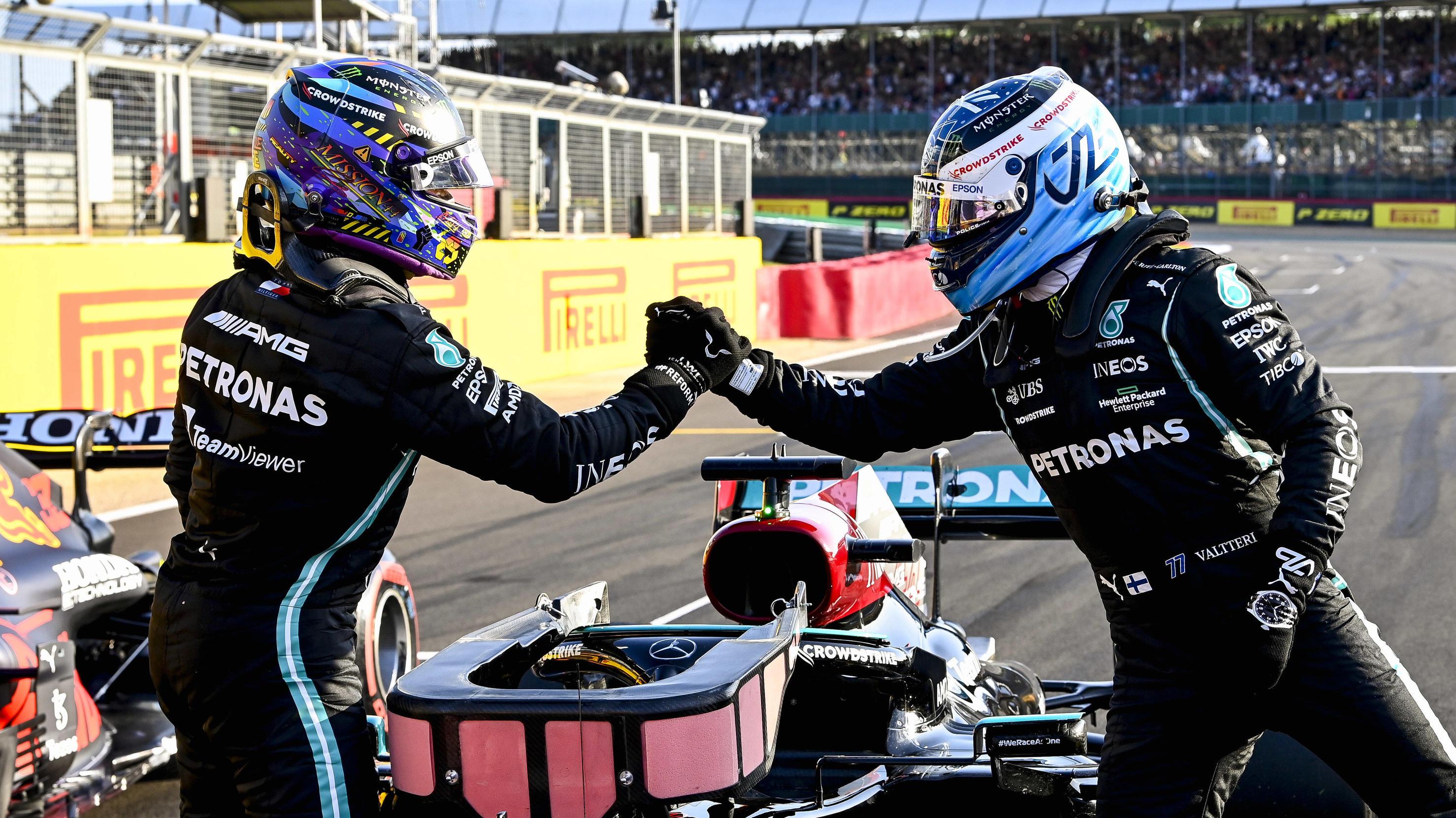 Formel 1 in Russland - Valtteri Bottas verspricht: Lasse Lewis Hamilton vorbei, wenn das Team es will