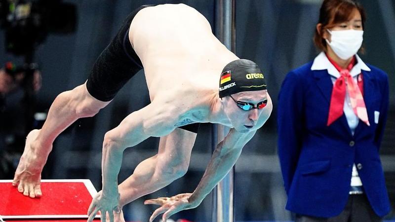 Schwimm-Star Wellbrock verpasst Medaille über 800 Meter