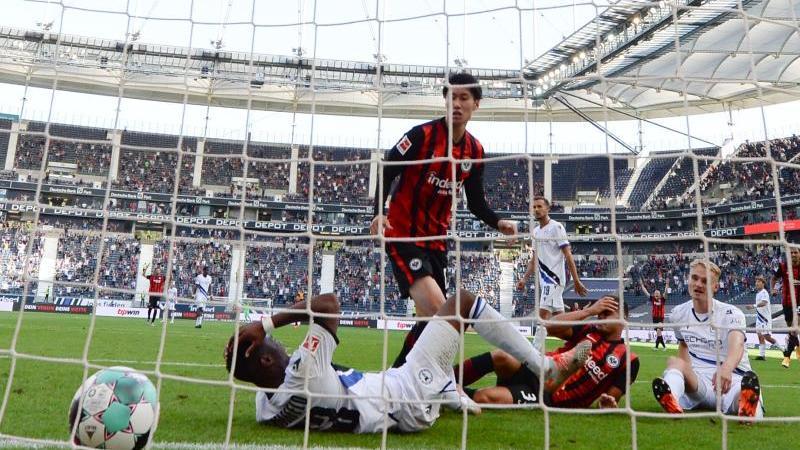 Bielefeld gelingt beim Bundesliga-Comeback 1:1 in Frankfurt