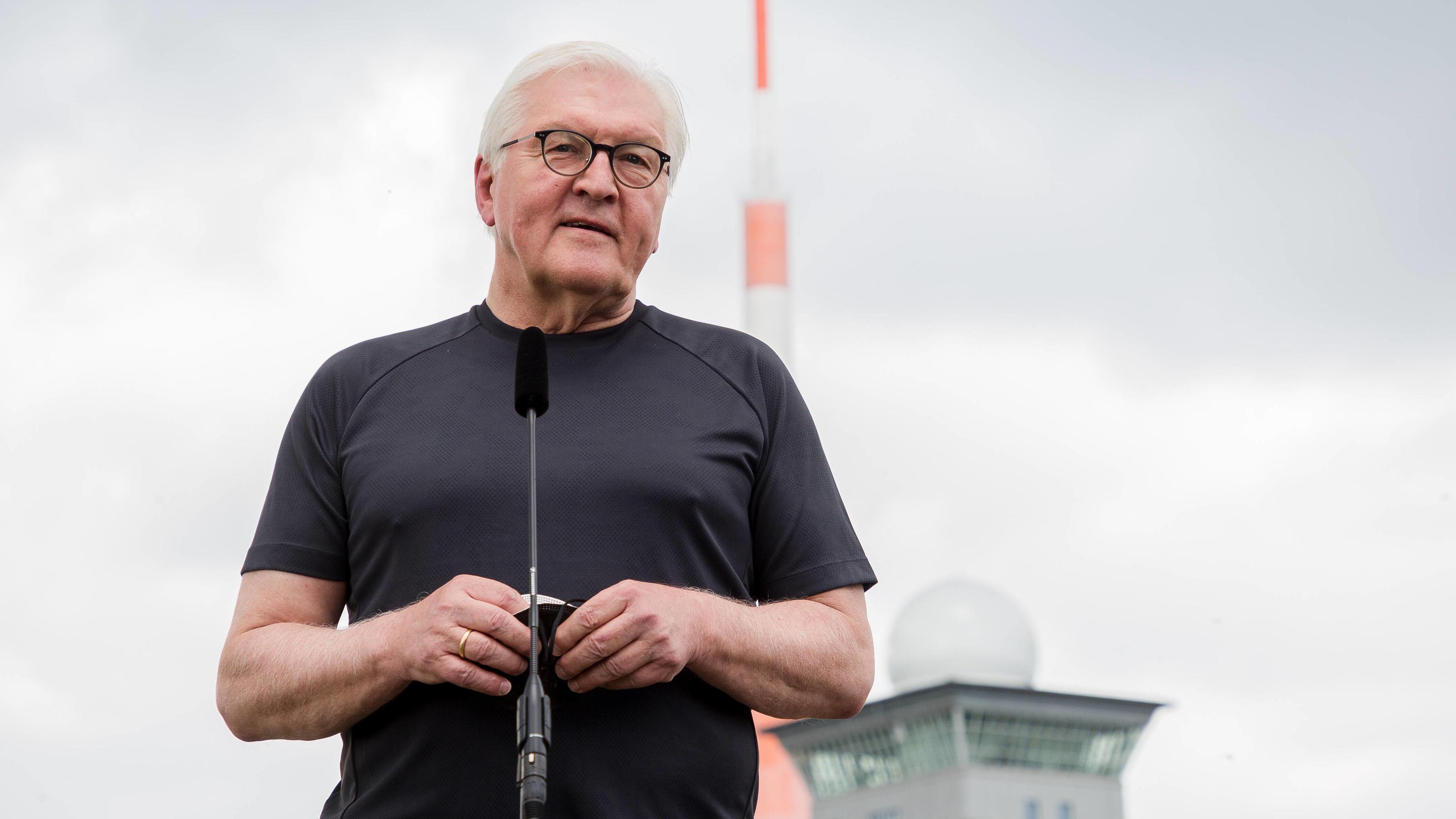"""Steinmeier zum Wahlkampf: """"Ich habe Sorge, dass es eine Schlammschlacht werden könnte"""""""