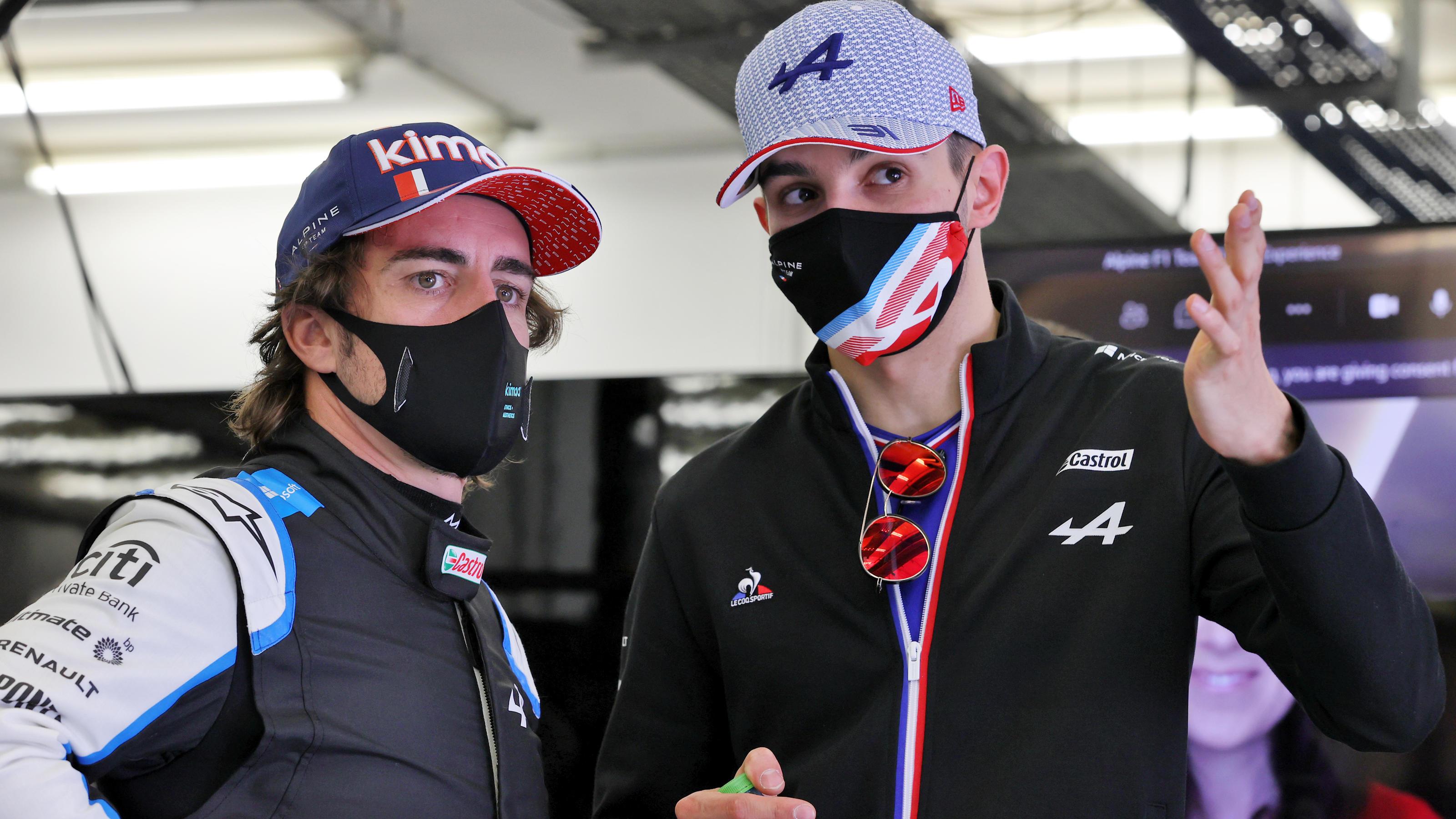 """Formel 1: Fernando Alonso schonungslos: """"100 Prozent nicht genug für Esteban Ocon"""""""