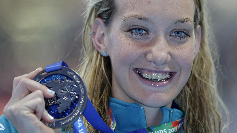 Doppelt geimpfter Schwimmstar Madison Wilson muss wegen Covid-19-Infektion ins Krankenhaus