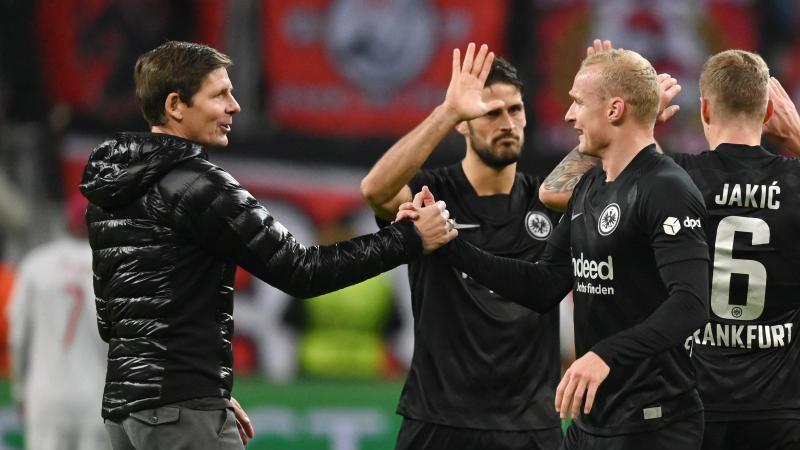 Eintracht Frankfurt mit Personalproblemen nach Bochum
