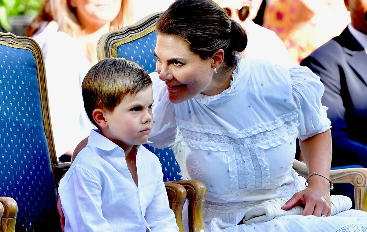 Prinzessin Victoria hat Angst - Oscars Einschulung bereitet ihr Sorgen