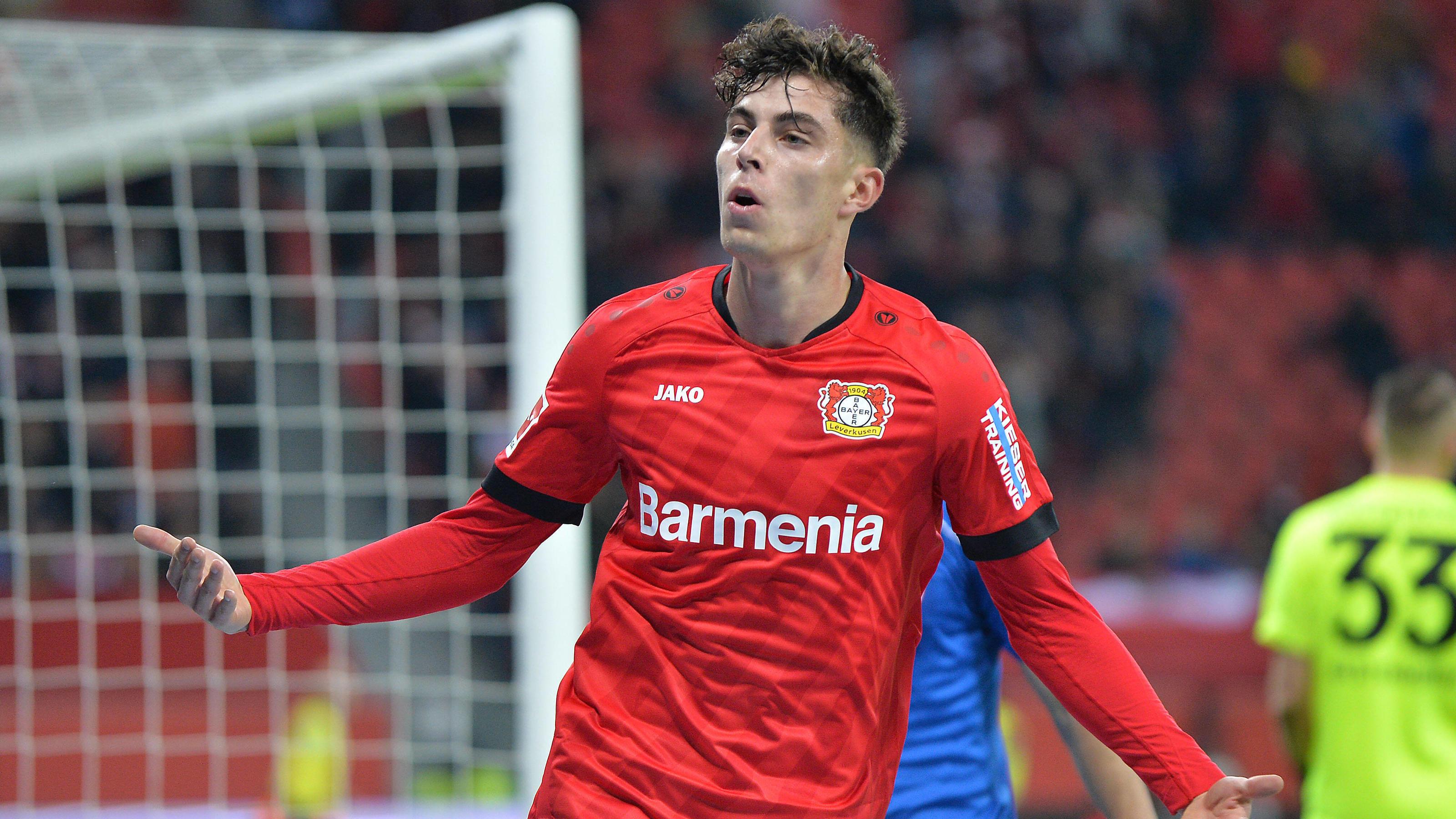 Kai Havertz zum FC Chelsea Abschied von Leverkusen steht ...