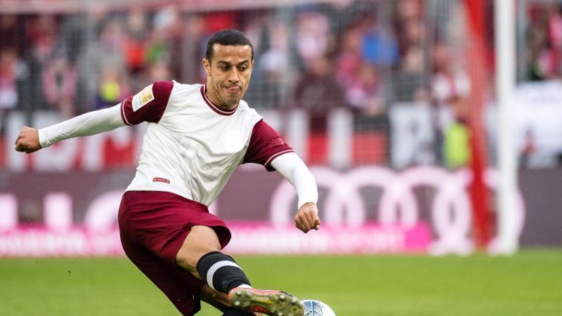 Thiago zurück im Mannschaftstraining des FC Bayern