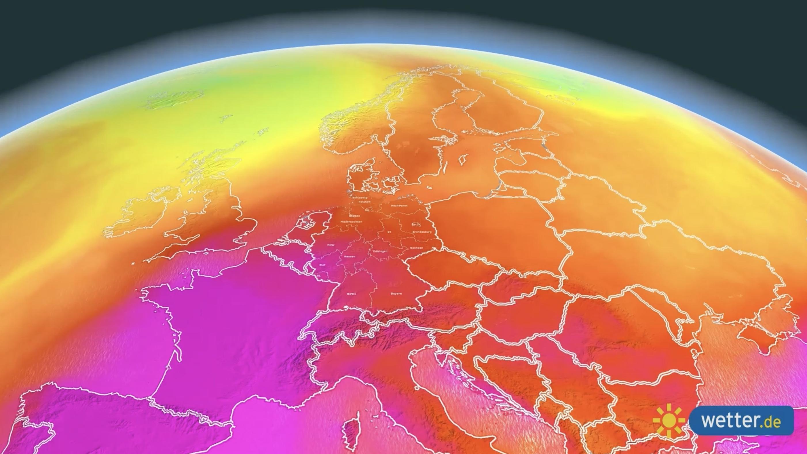 Weichenstellung für den Sommer - Polarwirbel raus, Wärme könnte kommen