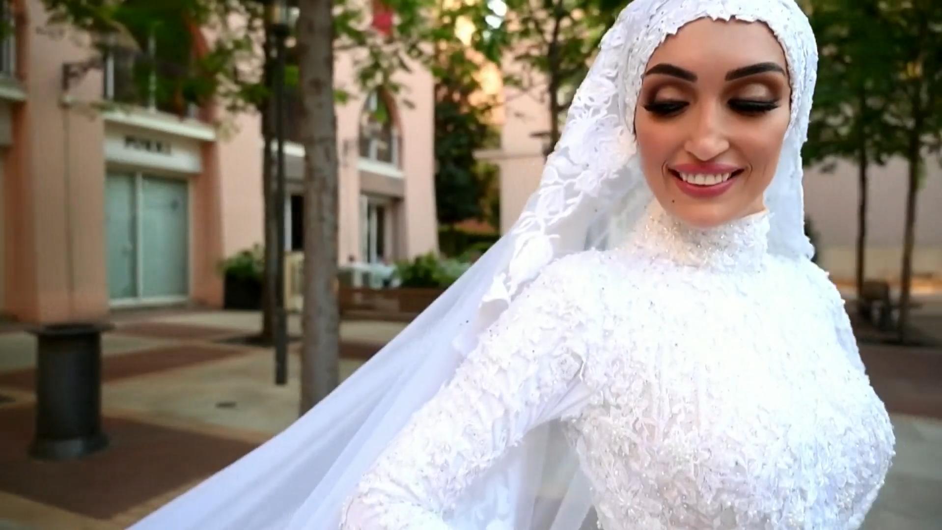 Explosion von Beirut unterbricht Hochzeitsshooting