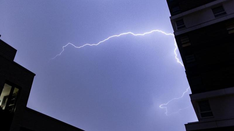 Gewitter und Starkregen am Wochenende in NRW