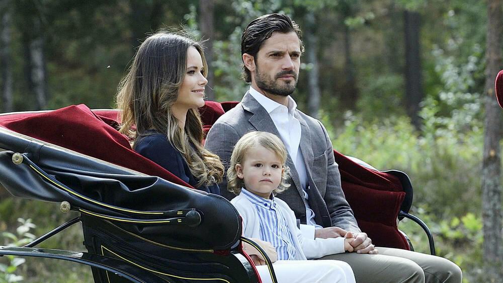 Carl Philip und Sofia gratulieren Frechdachs Alexander zum Geburtstag