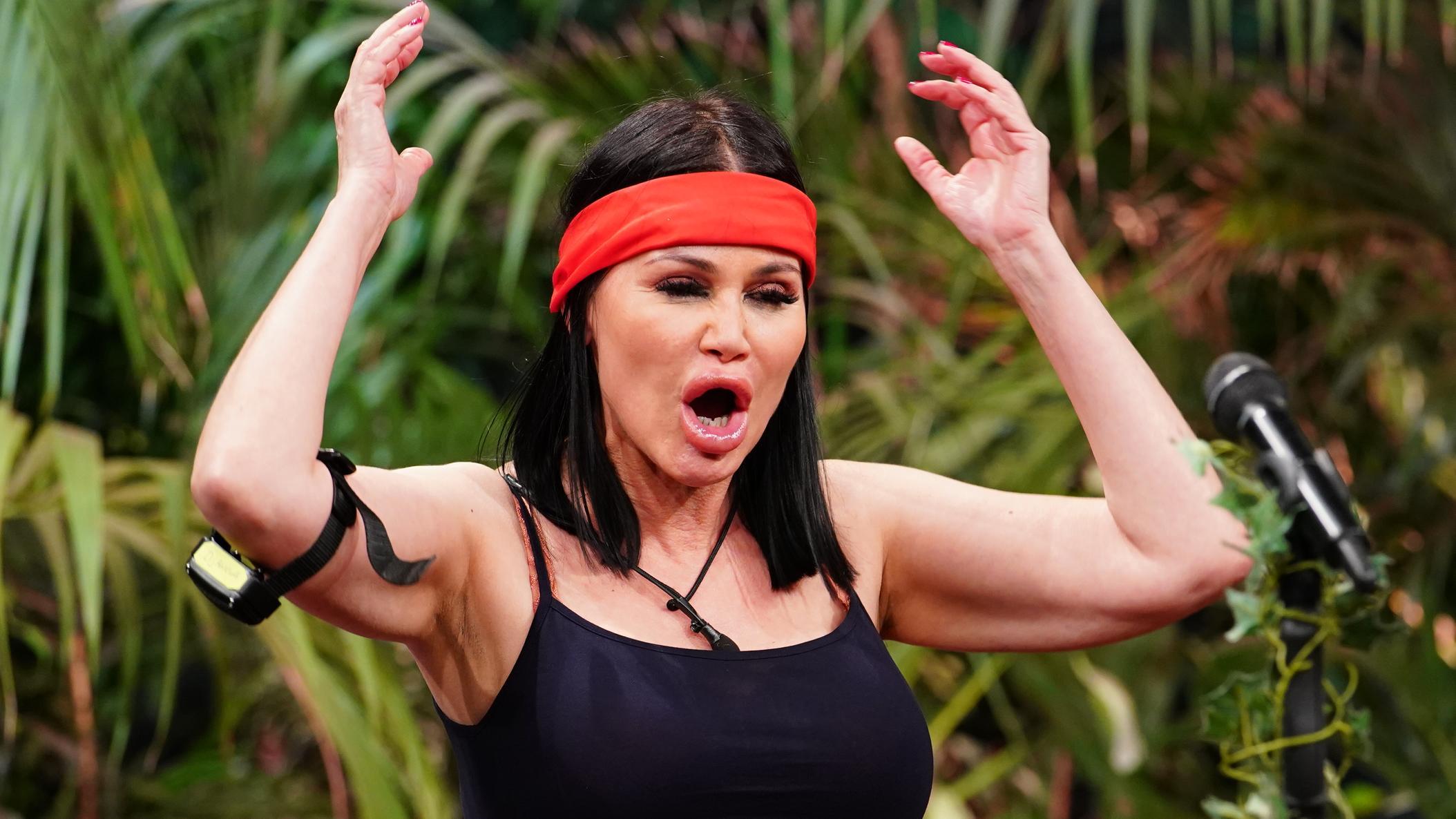 Dschungelcamp 2021: Djamila Rowe hat ein Trauma vom Penis dieses TV-Stars