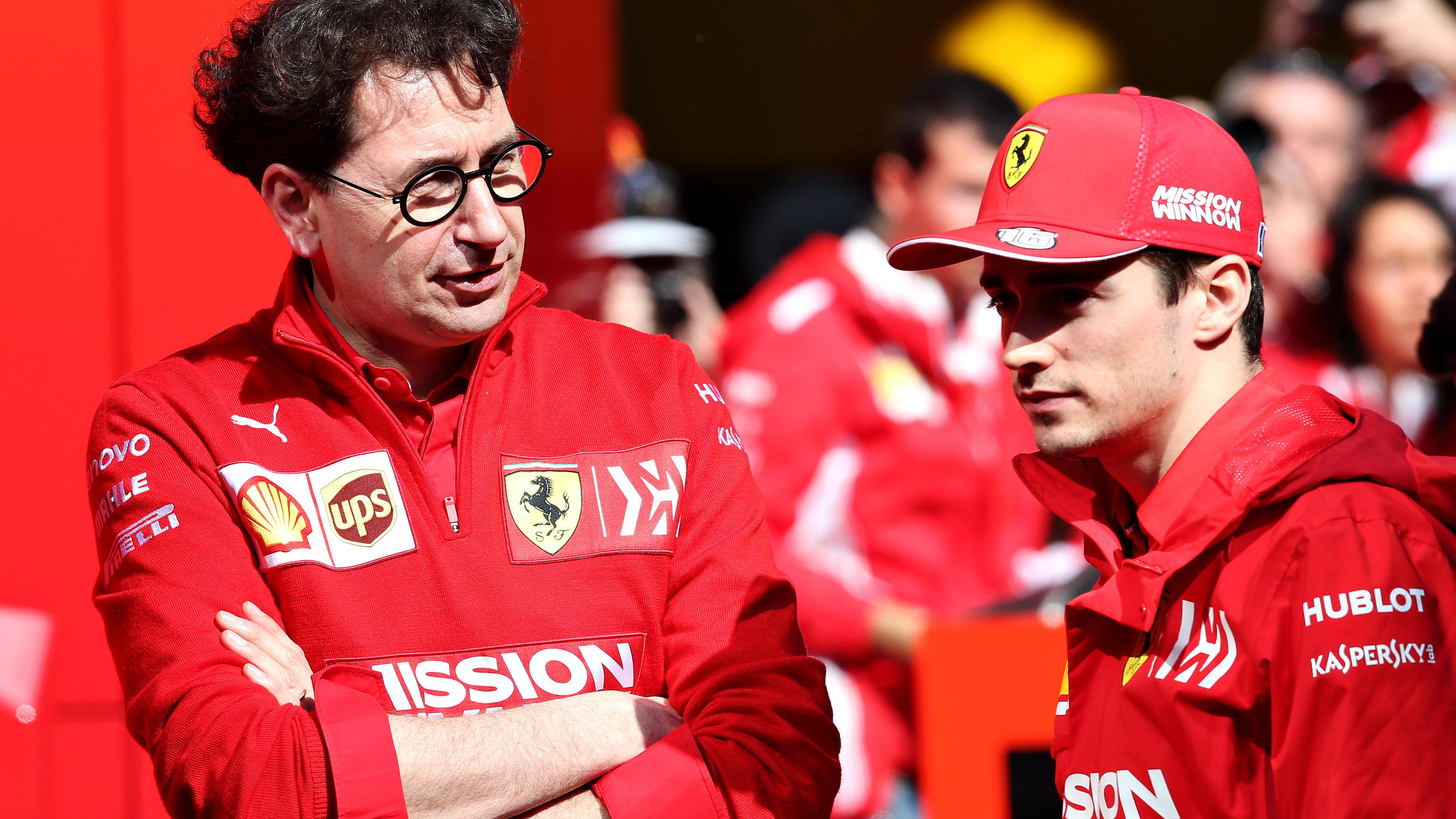 """Mattia Binotto und Charles Leclerc: Ferrari-Updates gehen """"in die richtige Richtung"""""""