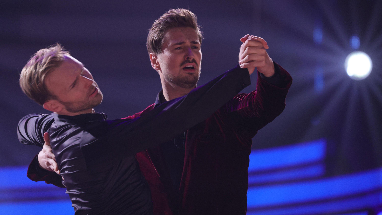 Let's Dance 2021: Das gab's noch nie! Nicolas & Vadim führen ihren letzten Tanz fort