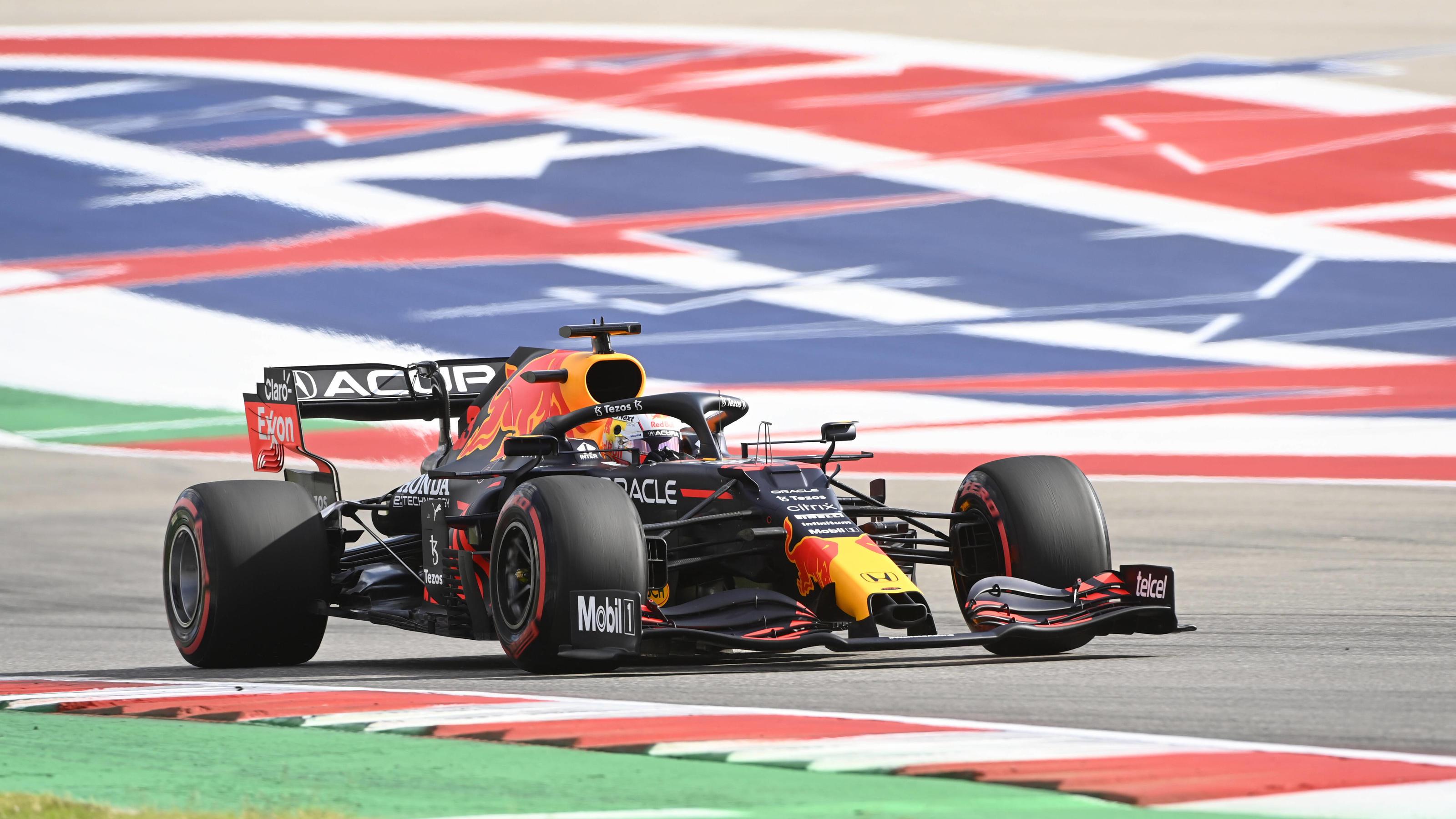 USA-GP: Verstappen rettet Texas-Sieg mit hauchdünnem Vorsprung vor Hamilton