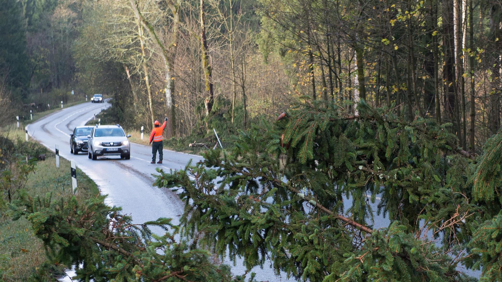 Sturm in Deutschland: Erst Spanienwärme, dann Polarluft
