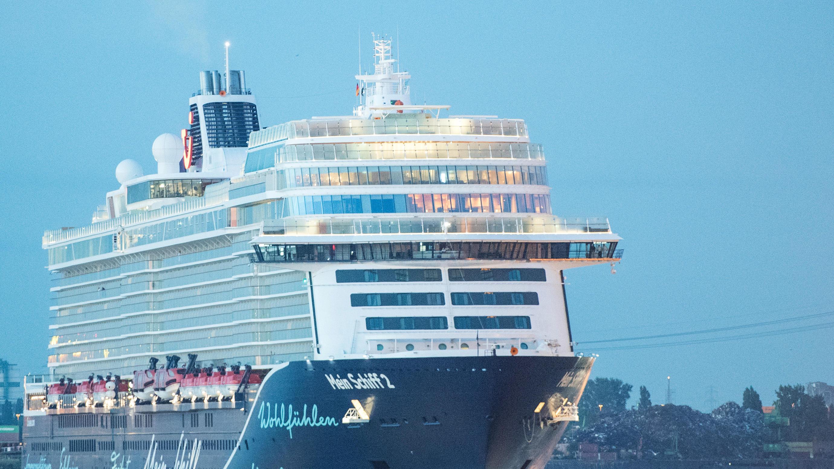 Corona auf TUI-Kreuzfahrtschiff vor Gran Canaria - 26 Urlauber in Quarantäne