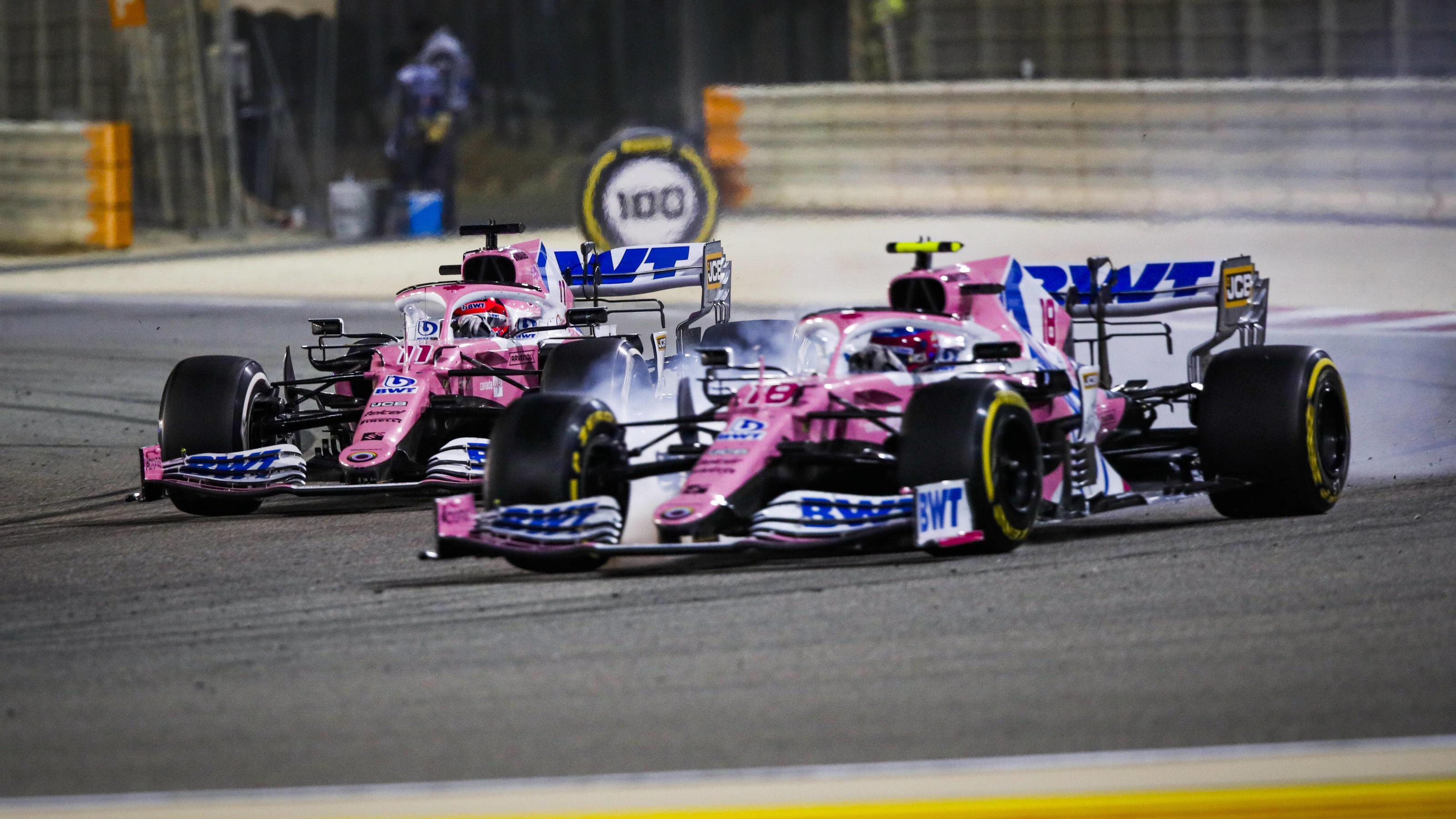 Formel 1: Ein Hauch von Pink für Sebastian Vettel und Aston Martin