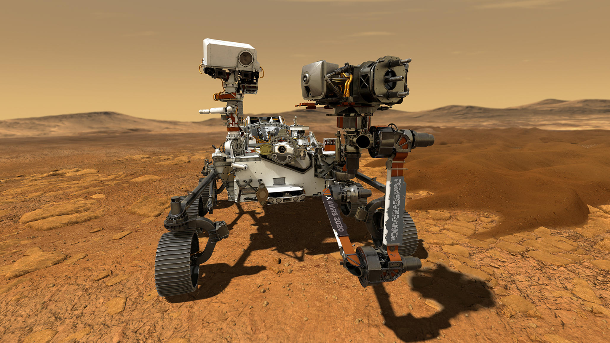 "Nasa: Mars-Rover ""Perseverance"" soll Proben des Roten Planeten entnehmen"