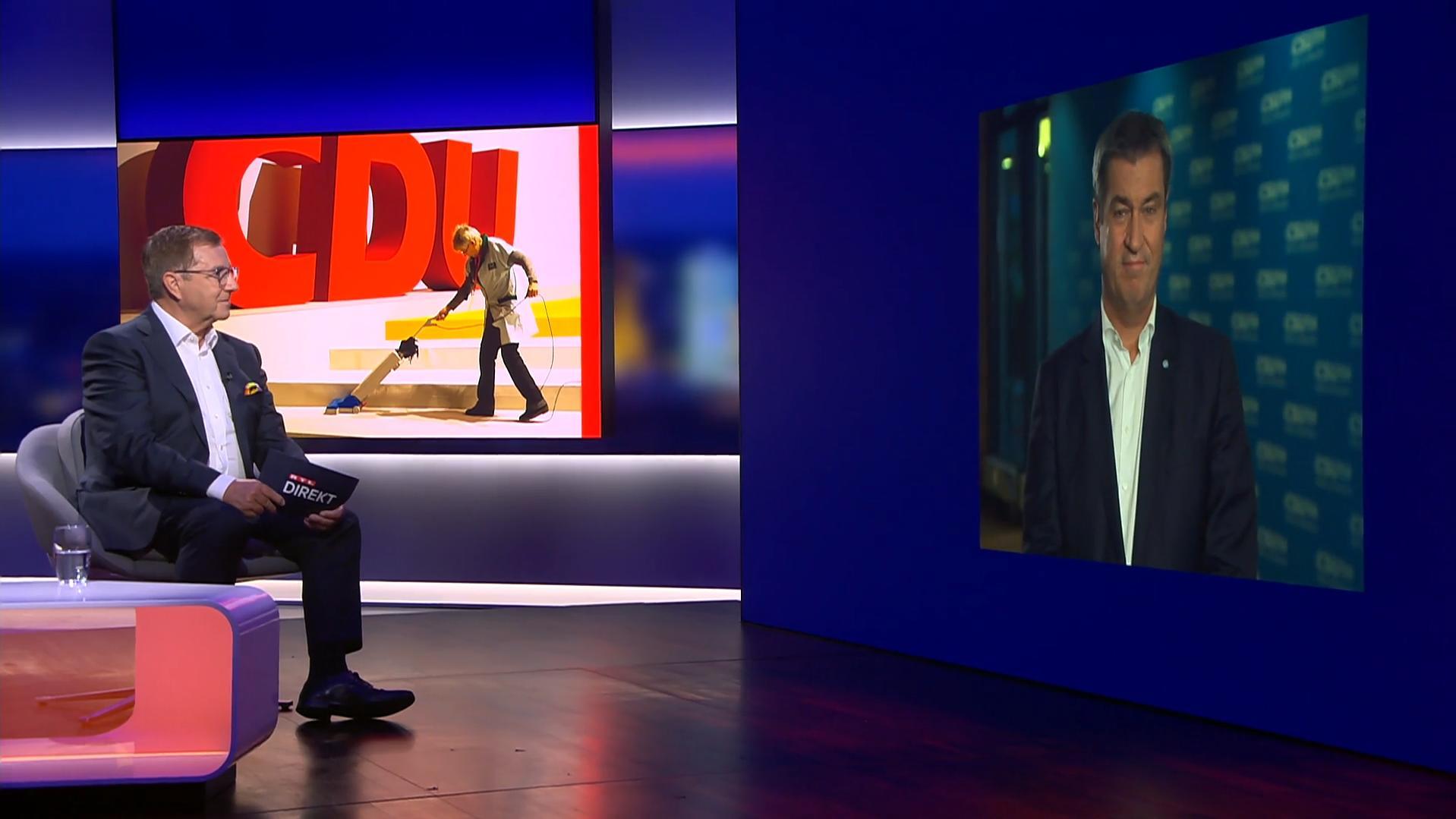 """RTL Direkt: Söder will Laschet mit """"CSU-Gen"""" aus Umfragetief helfen"""
