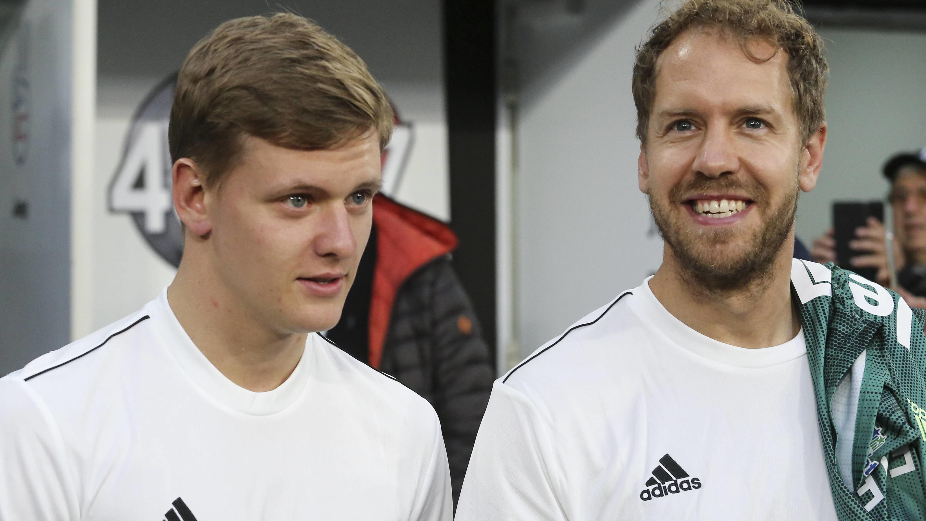 """Formel 1 - Mick Schumacher: Freundschaft mit Sebastian Vettel """"sehr wichtig für mich"""""""
