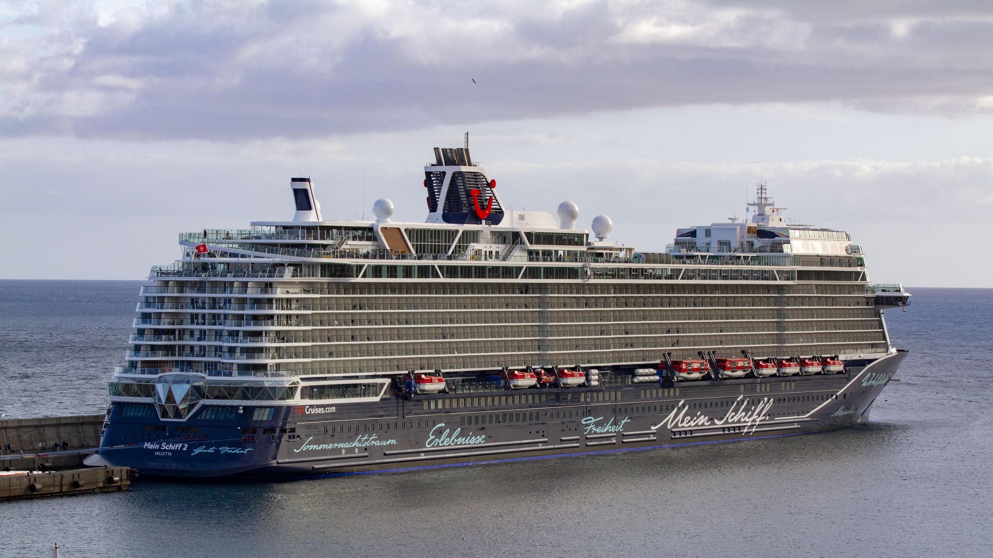 "Gran Canaria: Corona auf TUI-Kreuzfahrtschiff ""Mein Schiff 2"" - 26 Urlauber in Quarantäne"