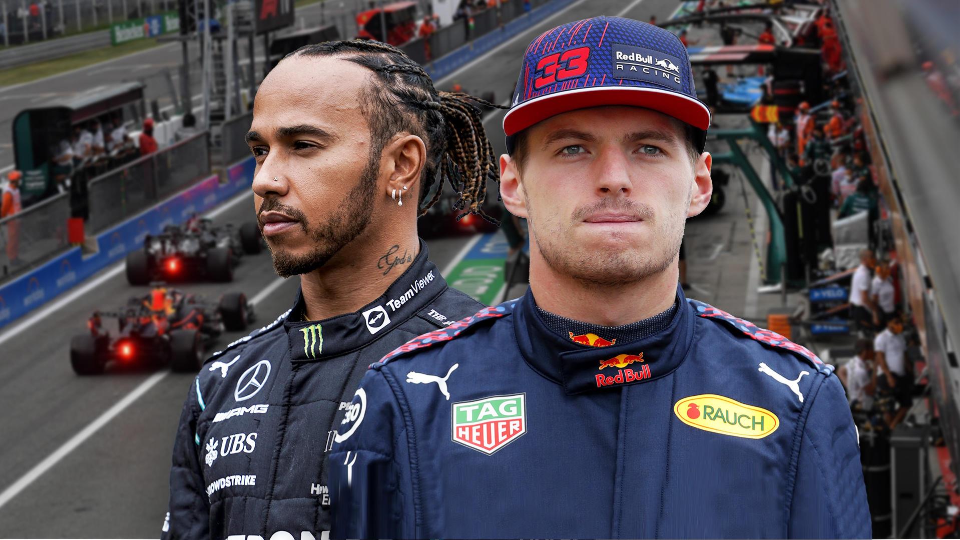 Formel 1 - Knallharter Titelkampf: Lewis Hamilton oder Max Verstappen? Darum geht der Weltmeistertitel 2021 an ...